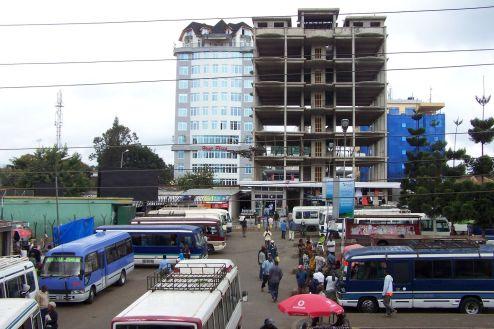 Busbahnhof in Moshi