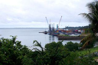 Der Hafen in Tanga