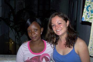 Couchsurferin Chenda aus Dar zu Besuch in Sansibar