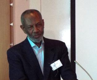 Abdilatif Abdallah, kenianischer Politiker und Schriftsteller, bei der Tagung in Erfurt