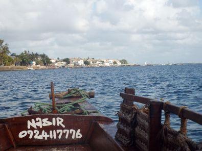 auf dem Weg nach Lamu Town