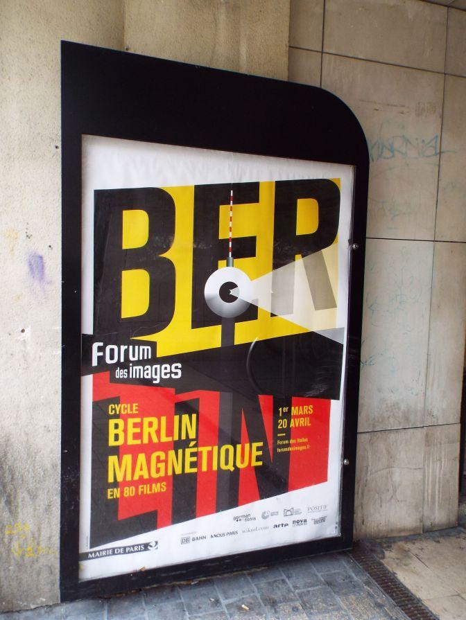Das Erste, auf das man in Paris trifft, ist ... Berlin!