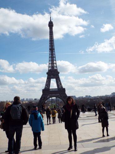 """Der darf natürlich in keiner Fotosammlung von Paris fehlen"""""""