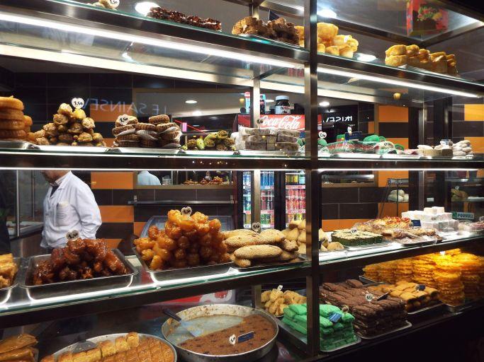 arabische Süßigkeiten - wir konnten nicht widerstehen!