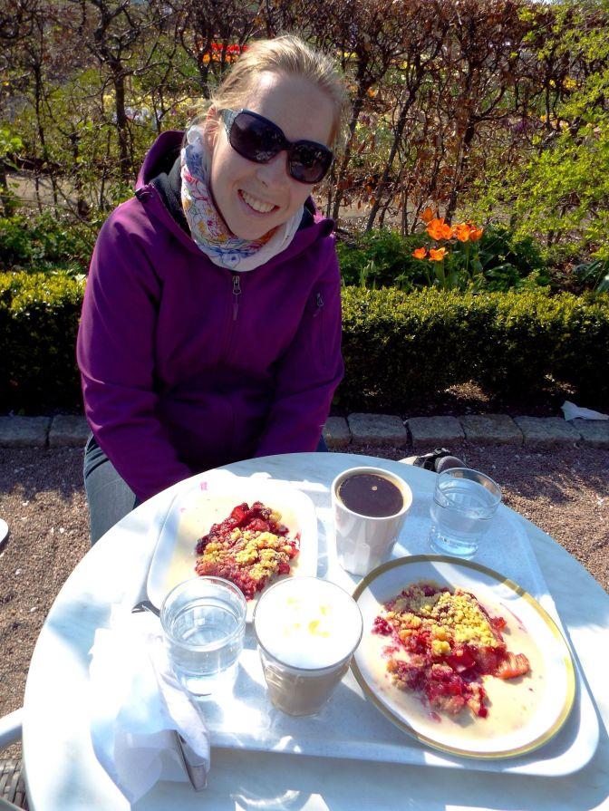 mmh, lecker schwedische Kaffeepause im Park