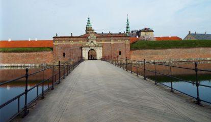 Eingang zum Schloss Kronborg