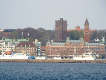 Blick auf Helsingborg