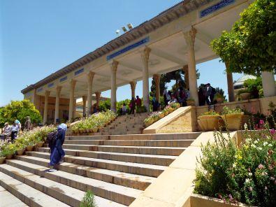 Zugang zum Hafez-Mausoleum