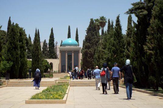 das Saadi-Mausoleum