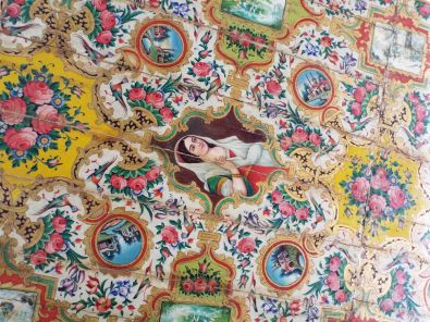 europäischer Einfluss bei den Deckenmalereien