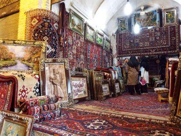 Teppichhändler im Bazar von Shiraz