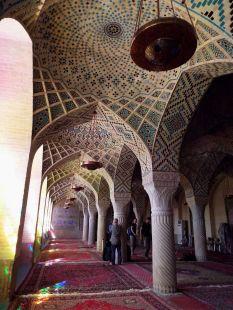 im Innern der Nasir-al-Mulk-Moschee
