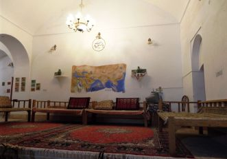 unser Hotel in Yazd