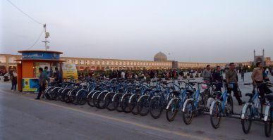 Fahrradverleih, aber nur für Männer :-(