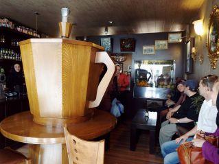 in einem armenischen Kaffeehaus