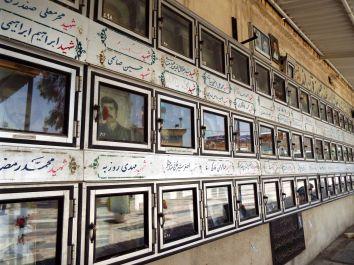 Märtyrerfriedhof der Gefallenen von Qom im Iran-Irak-Krieg