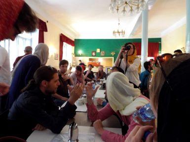 im Naderi-Café