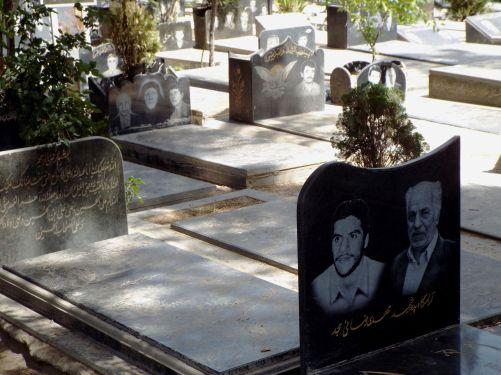 der Behesht-e-Zahra-Friedhof