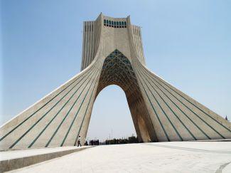 der Azadi-Turm