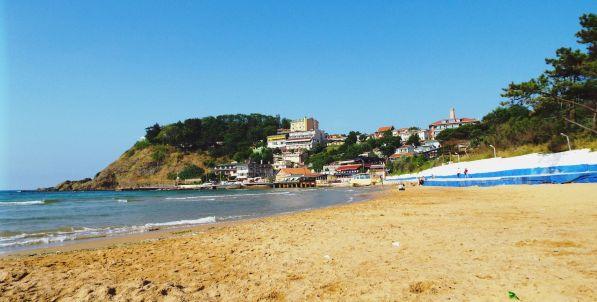 am Strand von Kiliyos