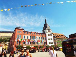Der Rudolstädter Marktplatz