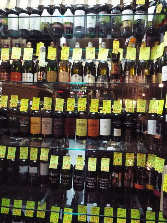 Portweingeschäft - die Qual der Wahl