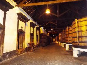 in der Portweinkellerei Ferreira
