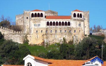 das Schloss von Leiria
