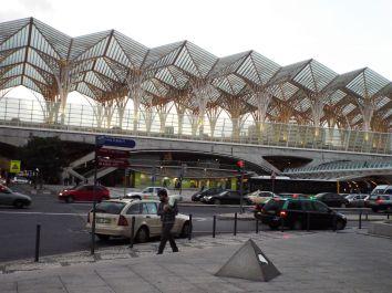 Bahnhof am Expo-Gelände