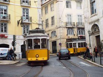 DIE berühmte Tram von Lissabon