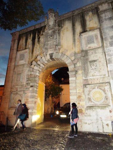 der Eingang zum Castelo