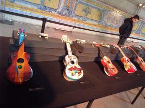 Cavaquinhos, kleine portugiesische Gitarren