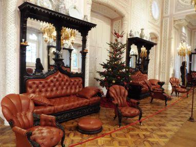 der deutsche Erbauer des Schlosses, Ferdinand II., brachte den Weihnachtsbaum nach Portugal