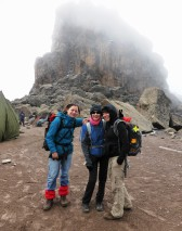 Mit ca. 4600 m am Lava Tower haben wir quasi schon Mount Meru (dritthöchster Berg Tansanias) bestiegen