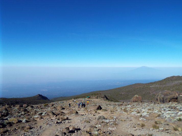 Auf zur letzten Etappe vor dem Gipfelsturm!