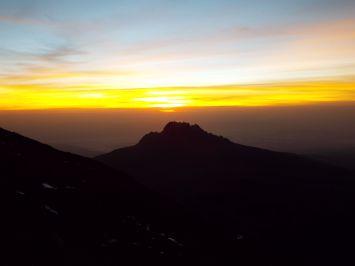 Und endlich der Sonnenaufgang!