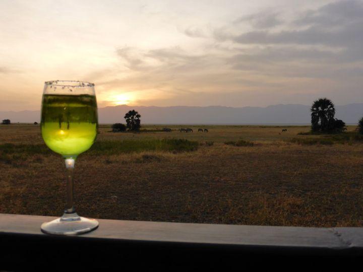 Die grüne Margarita à la Tansania