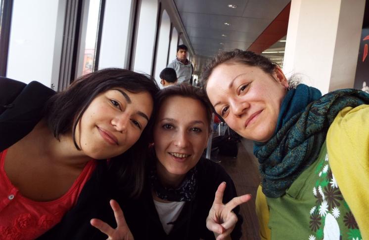Noch winterweiß am Flughafen Berlin-Tegel