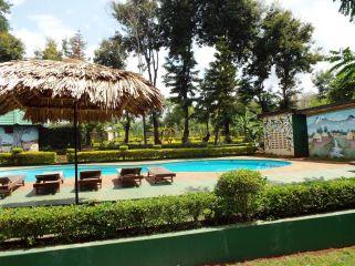 Endlich Sonne! - Unser Hotel in Moshi