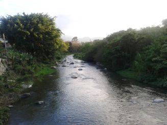 Der Fluss Río Yaque del Norte