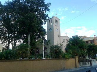 Die Hauptkirche am Parque Central
