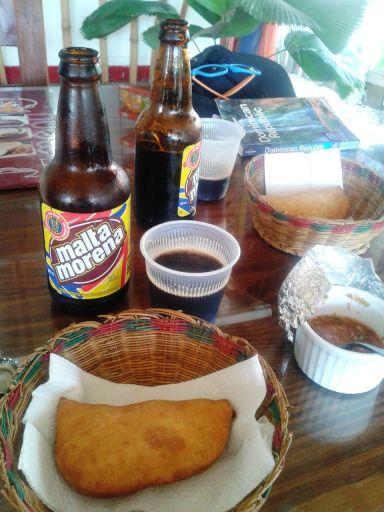 Kolumbianischer Mittagssnack