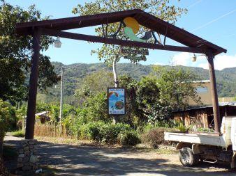 "Erstes Eingangstor zum ""Jamaca de Dios""-Weg - noch zu Fuß"