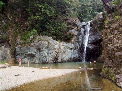 Wassermangel am Wasserfall