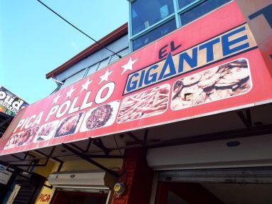Pica Pollo - frittiertes Hühnchen
