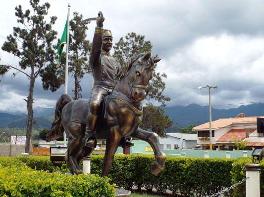 Denkmal von Luperón (1839–1897), ehemaliger Staatschef