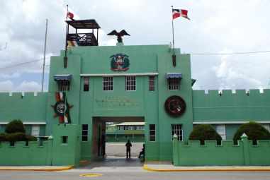 Militärgebäude der cazadores (Jagdflieger)