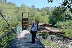 Brücke im Gran Jimenoa Hotel