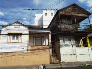 Im historischen Zentrum Santiagos