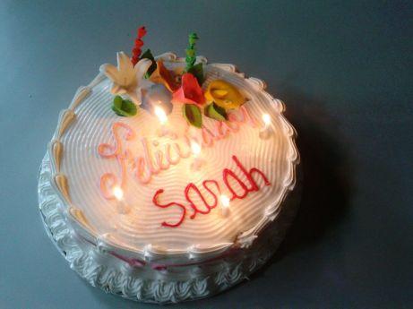 Supersüsse Geburtstagstorte